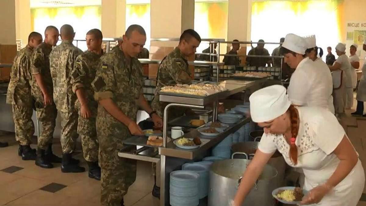 Українські солдати будуть харчуватись за стандартами НАТО