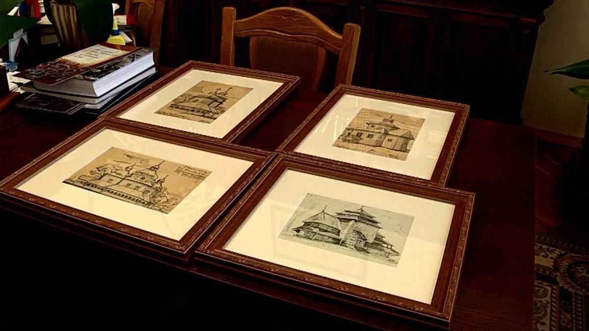 Викрадені картини художника УПА намагались продати з молотка