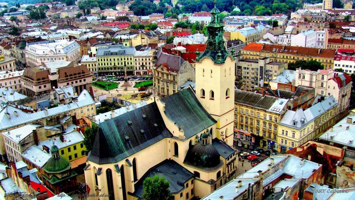 Из Львова вывезли значительную часть мусора