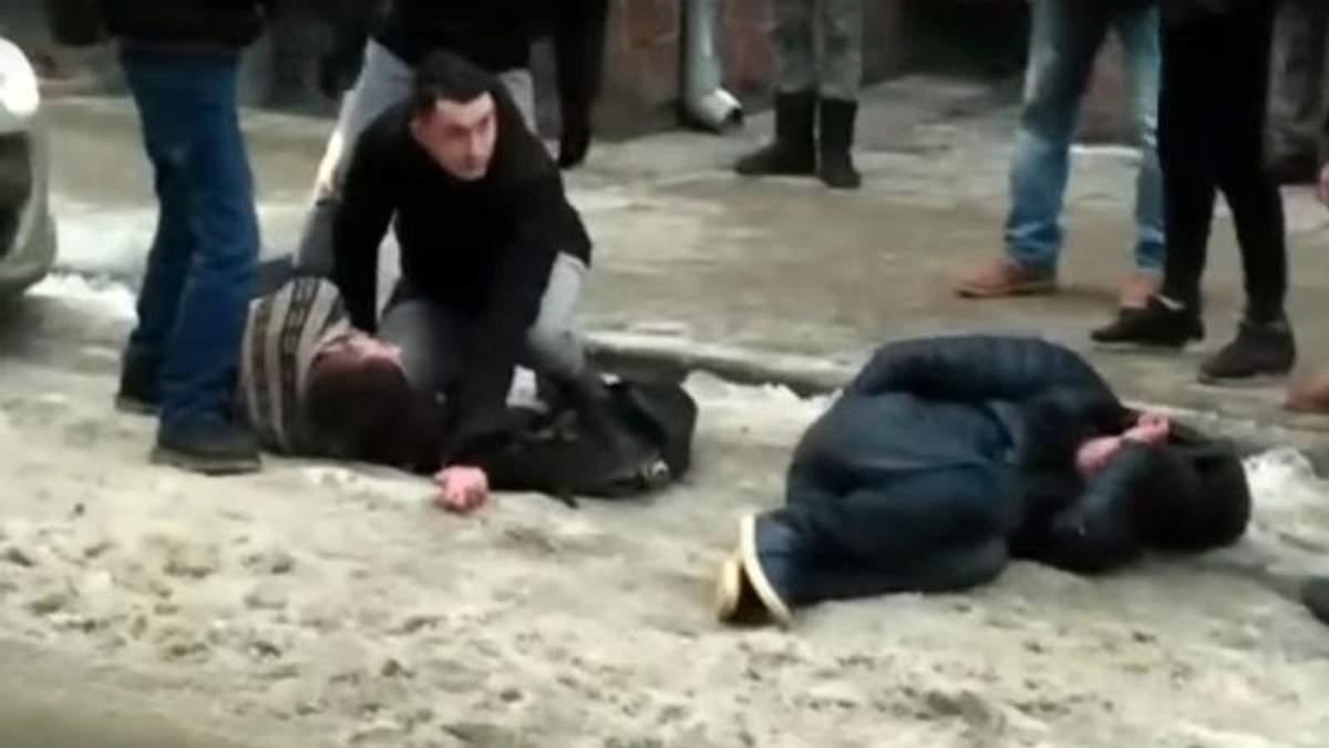 Масова бійка у Львові