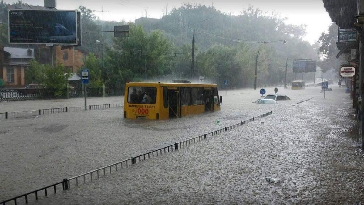 Негода у Львові 17 серпня