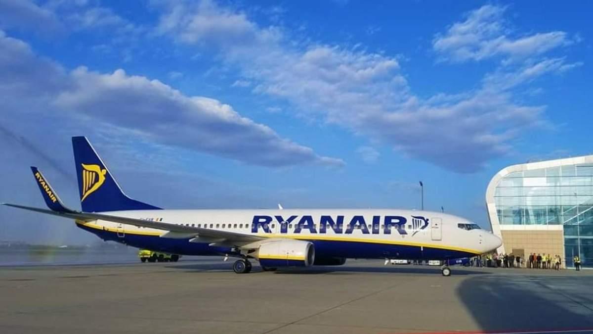 Ryanair у Львові: фото першого рейсу лоукостера