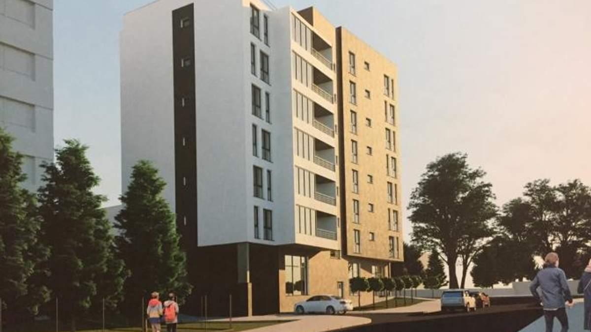 Военная прокуратура во Львове построит жилую многоэтажку