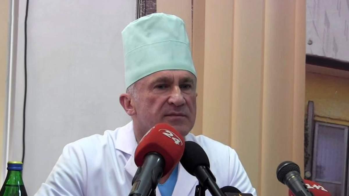 Головний хірург Військово-медичного клінічного центру західного регіону Іван Богдан