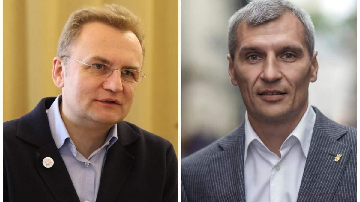 """""""Свобода"""" займається кампанією мера Львова, а не президента, – Садовий про Кошулинського"""