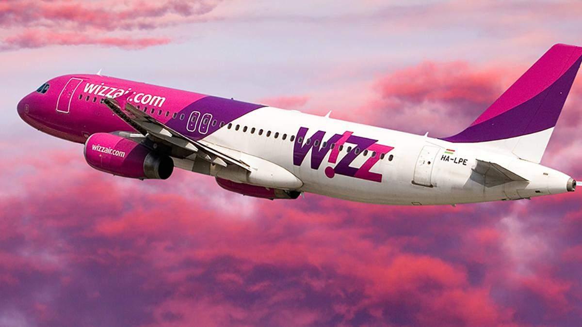 Wizz Air запустив декілька нових рейсів з України