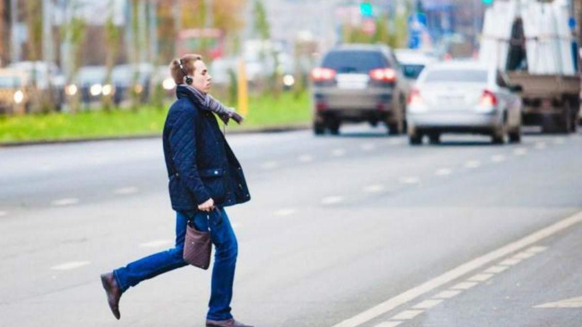 Рейд пішоходів у Львові: як поліцейські ловили порушників, та що ті казали у відповідь