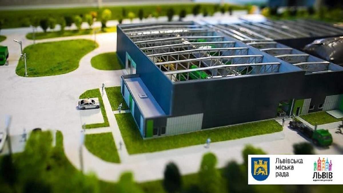 Майбутній сміттєпереробний комплекс у Львові
