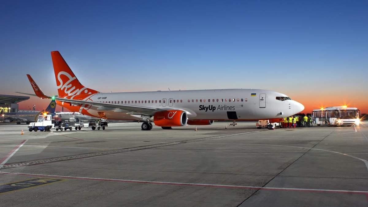 SkyUp запускает сразу несколько новых авиарейсов по Украине