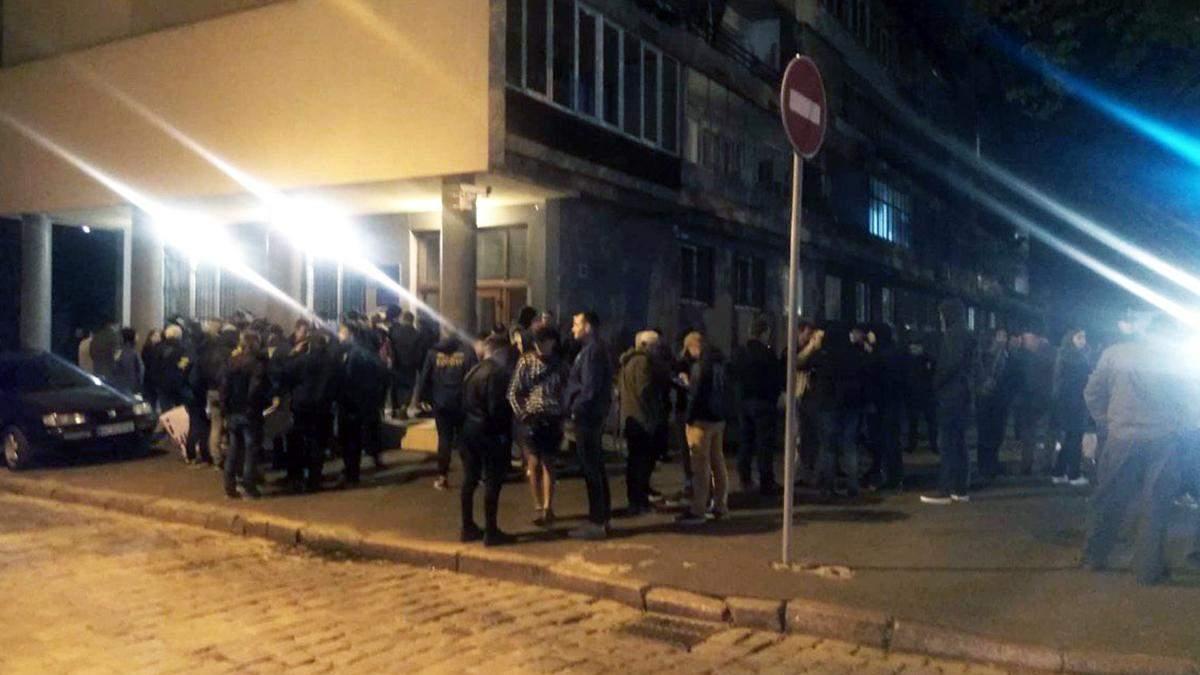 Протест проти підписання формули Штайнмаєра у Львові