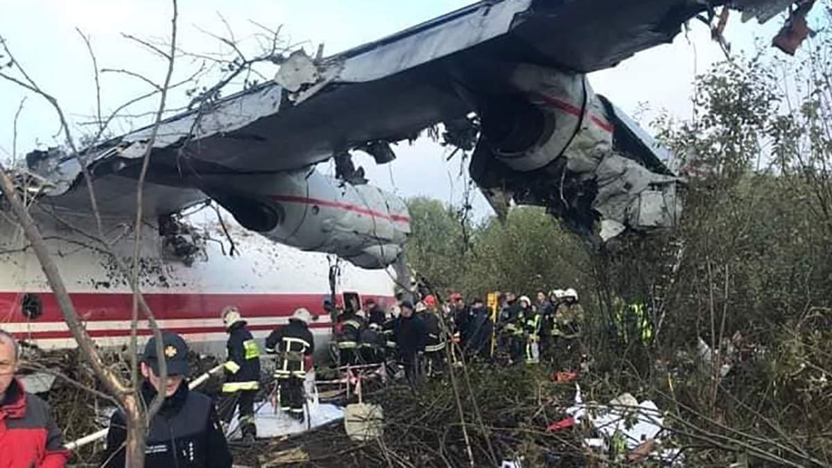 Авария самолета Ан 12 под Львовом – состояние пострадавших