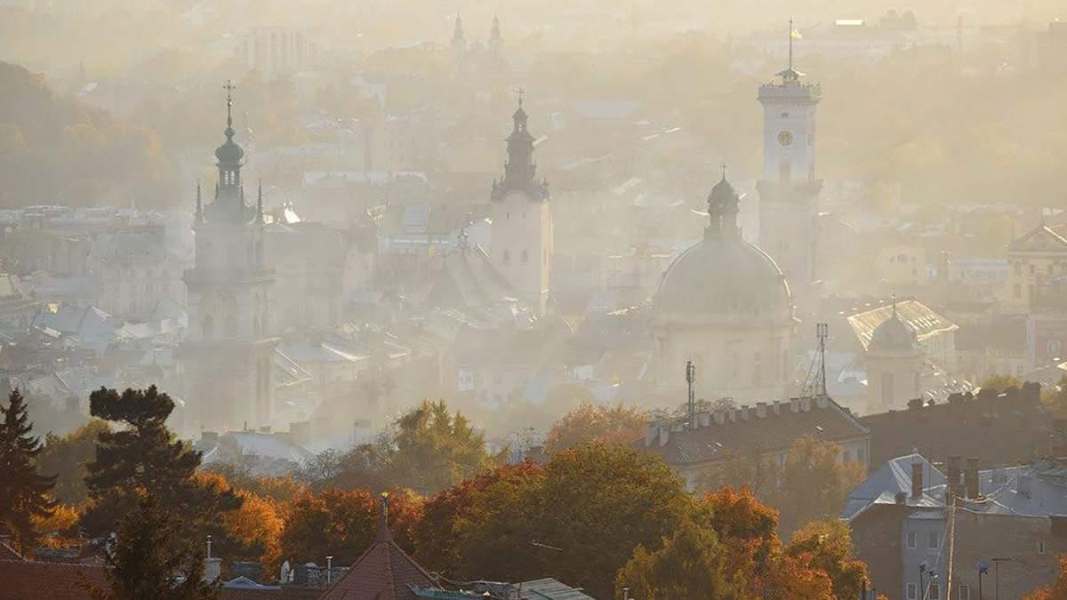 У п'яти містах України забрудненість повітря перевищила норму