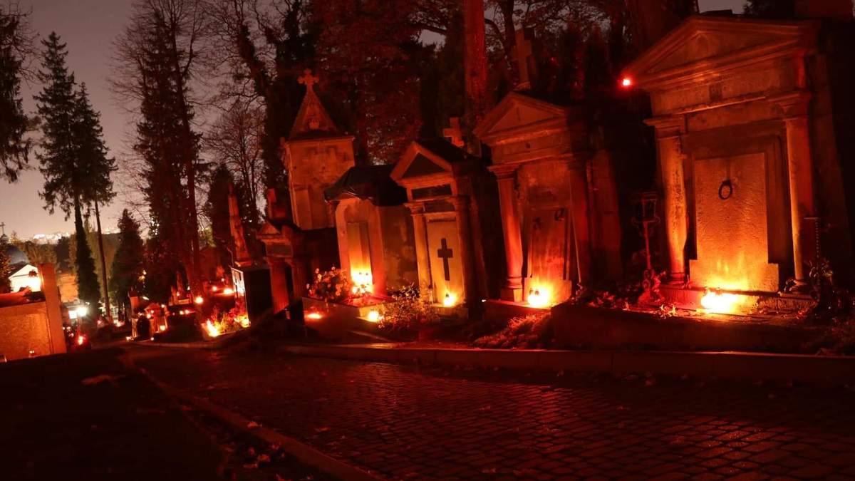 Личаківське кладовище, 1 листопада