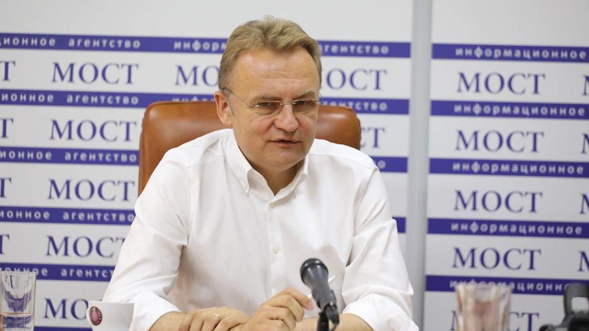 Коли показав документи Милованову, у нього волосся стало дибки, – Садовий про справу проти нього