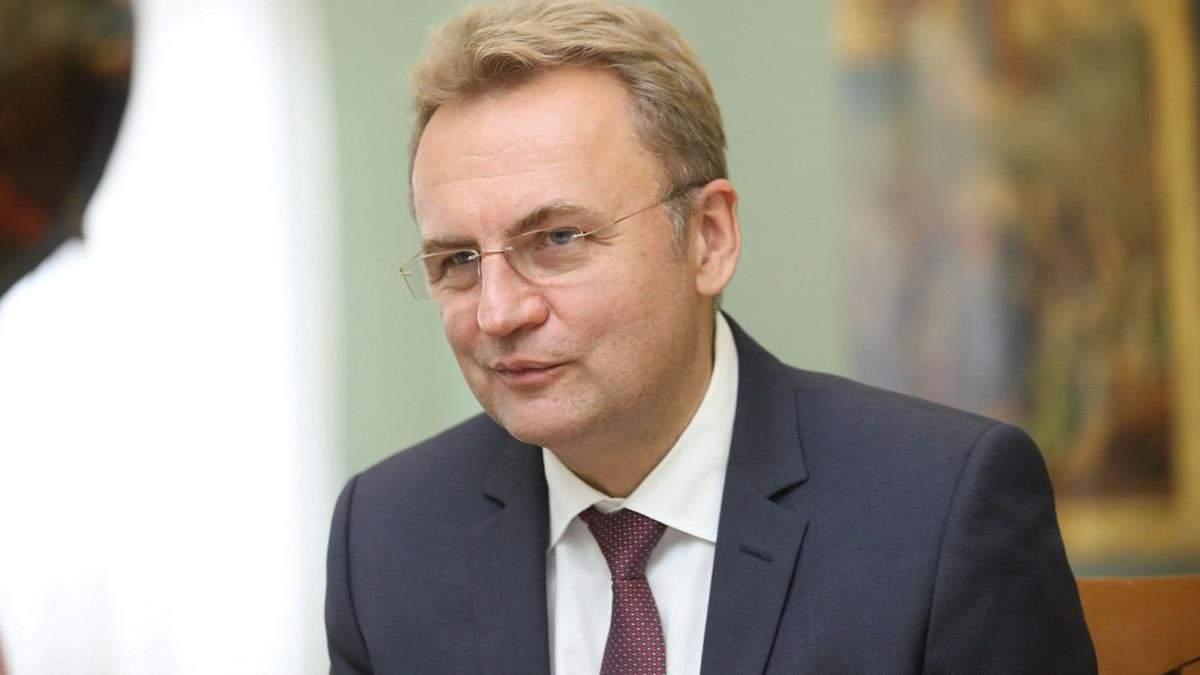 У нього багате майбутнє: Садовий прокоментував відставку голови Львівської ОДА Мальського