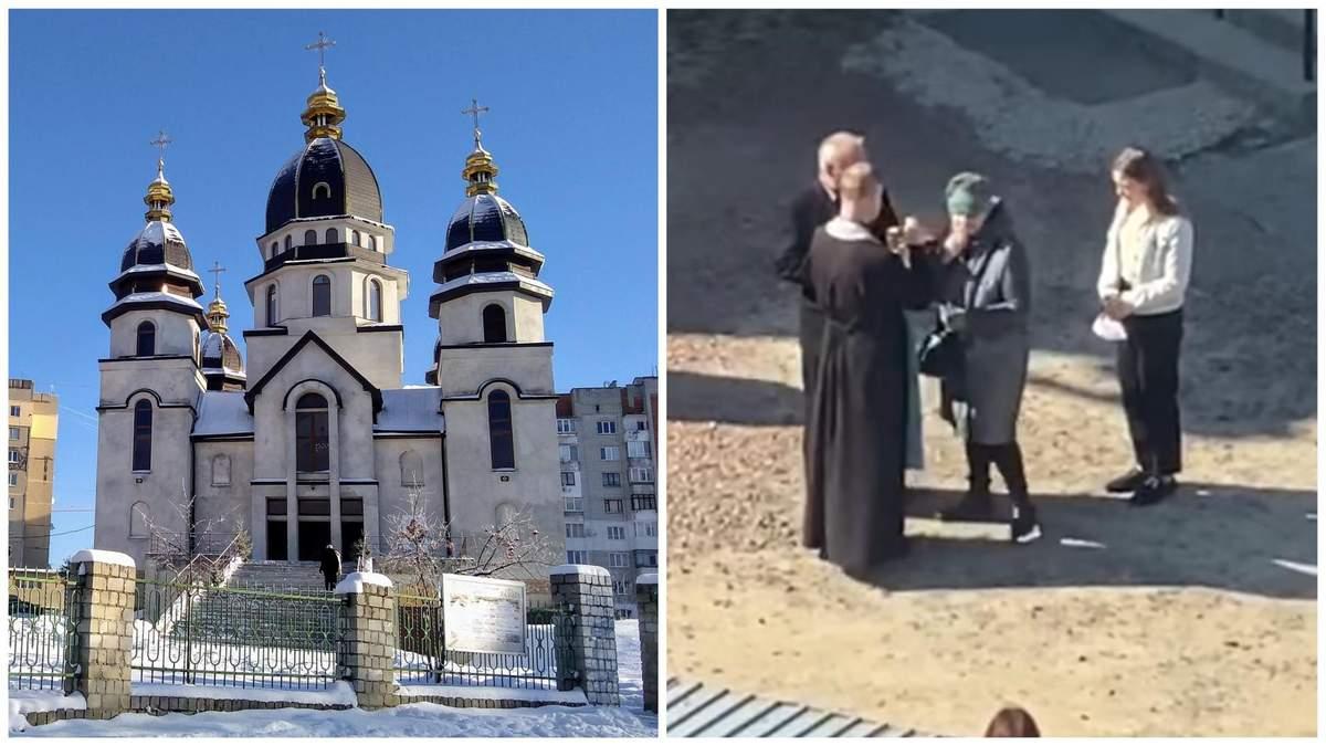 Причащалися з однієї ложки, але слизової не торкалися: скандальне відео зі Львова і реакція УГКЦ