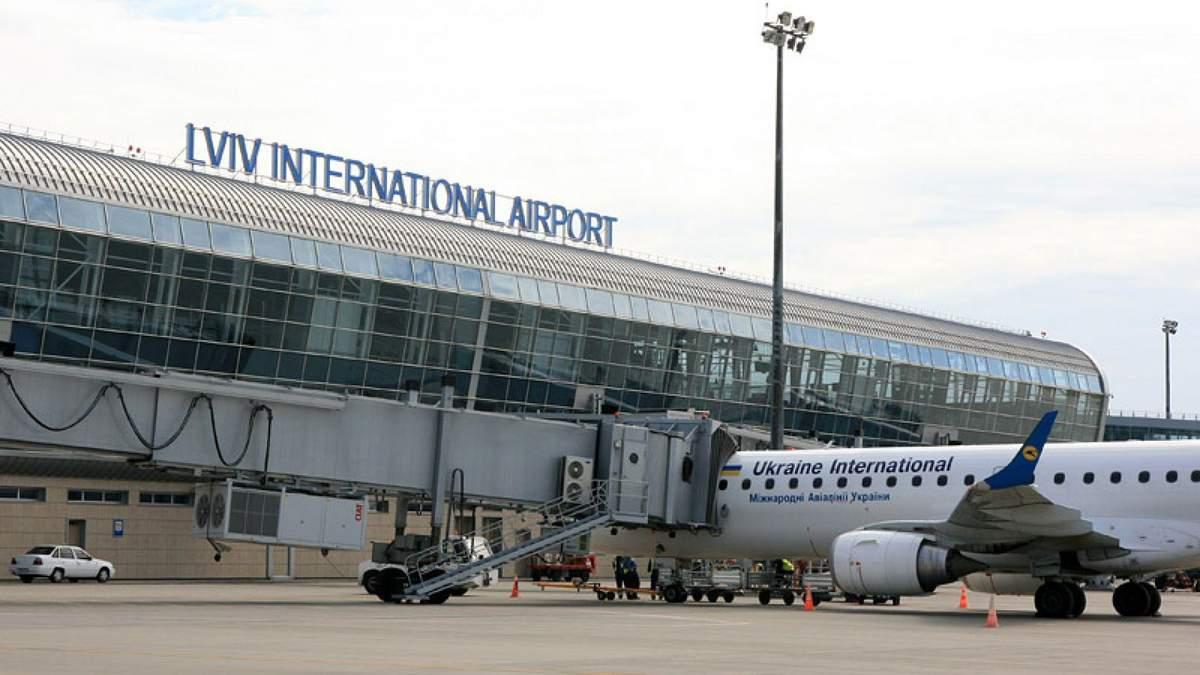 Львівський аеропорт посів 2 місце за пасажиропотоком в Україні