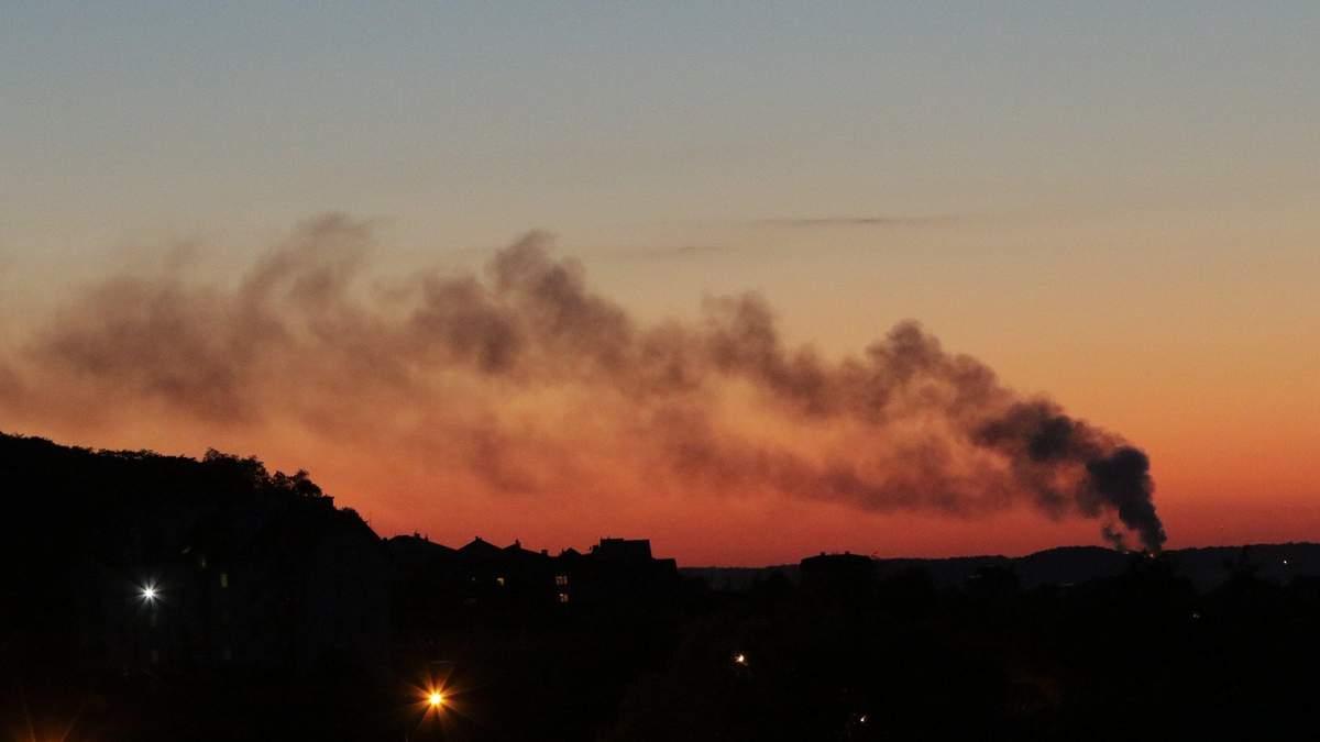 Во Львове случился пожар: женщина потеряла сознание и не могла спастись