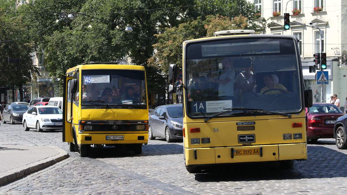 ЛОДА не погодила нові маршрути автобусів до сіл та міст Львівської ОТГ