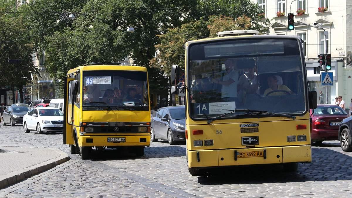 ЛОГА не согласовала новые маршруты автобусов до сел и городов Львовской ОТГ