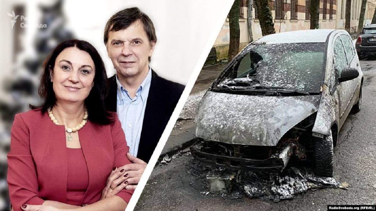 Подожгли авто журналистке: во Львове решат судьбу заказчиков нападения