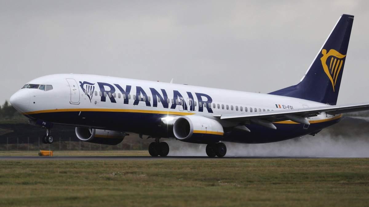 Ryanair анонсировал еще один авиарейс из Львова в Италию