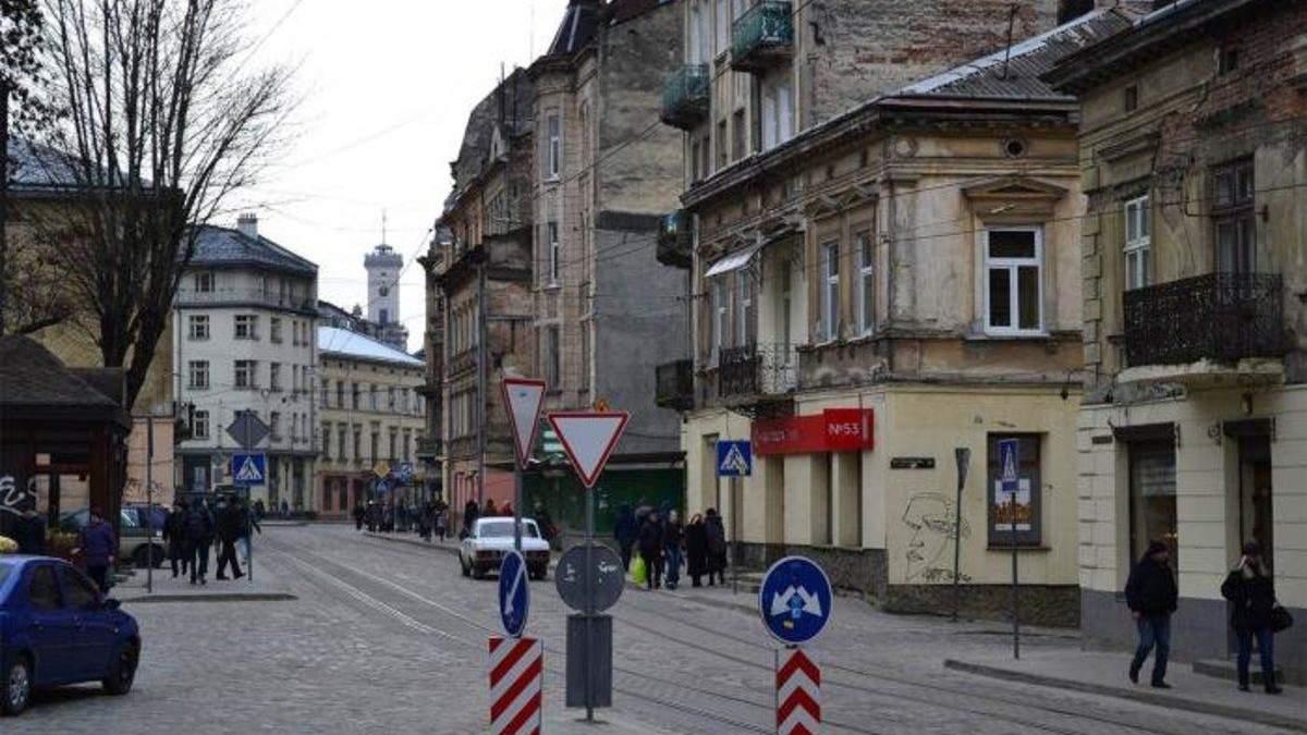 У Львові перекриють частину вулиці Хмельницького: що відомо