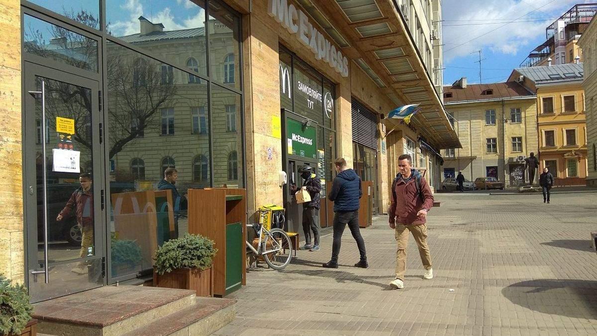 Во Львове за нарушение карантина закрыли несколько заведений: детали