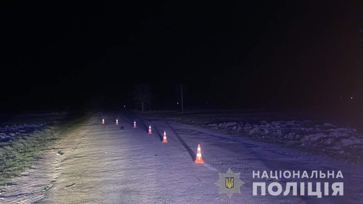 Не заметил на ночной трассе: на Львовщине водитель микроавтобуса насмерть сбил мужчину – фото