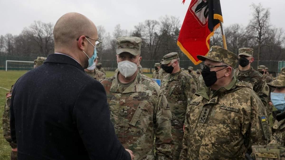 Шмигаль подякував військовим країн НАТО за підготовку військовослужбовців ЗСУ
