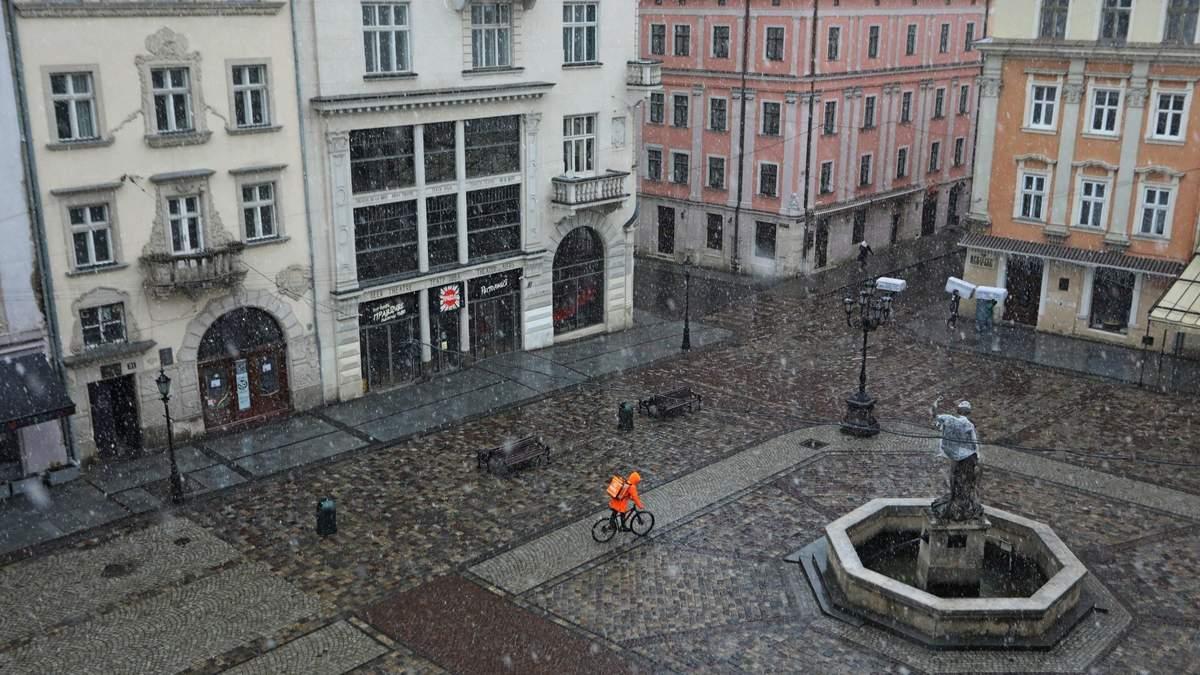 Ночью будут заморозки, а днем – снег: прогноз погоды на Львовщине на 23 апреля