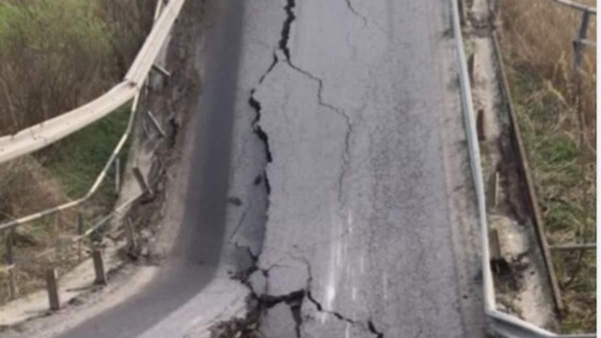 В Укравтодорі розповіли, коли відбудують міст, який обвалився на Львівщині