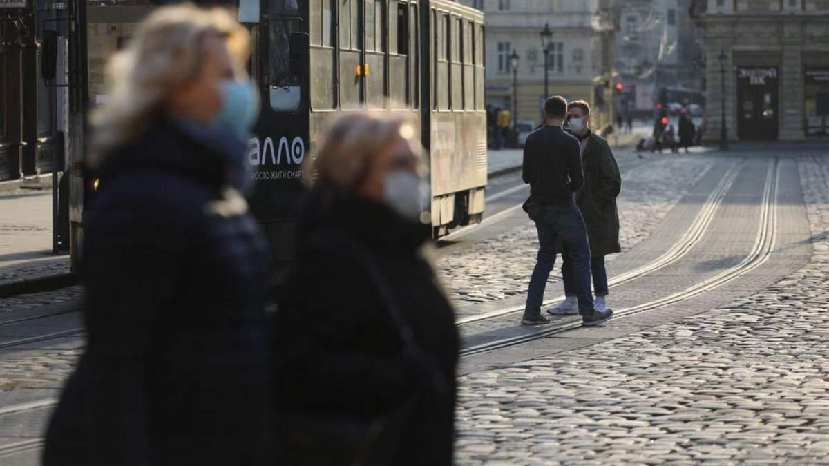 Коронавірус у Львові та області: актуальна статистика захворюваності