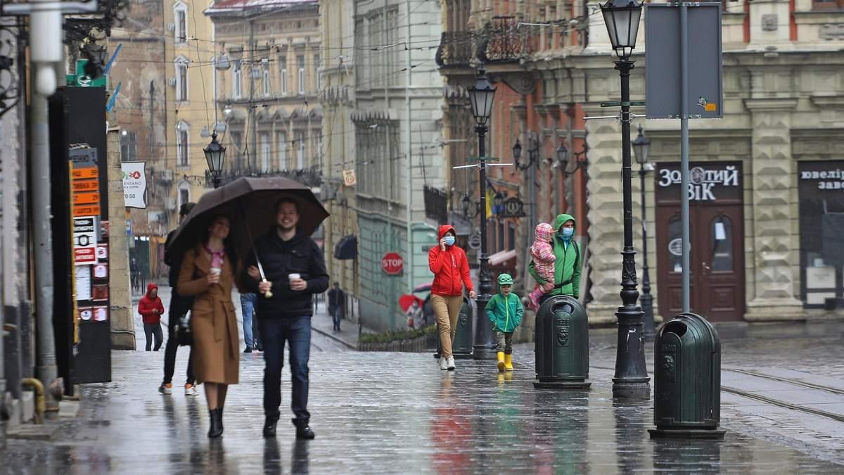 Потепління та грози: якою буде погода на Львівщині протягом тижня