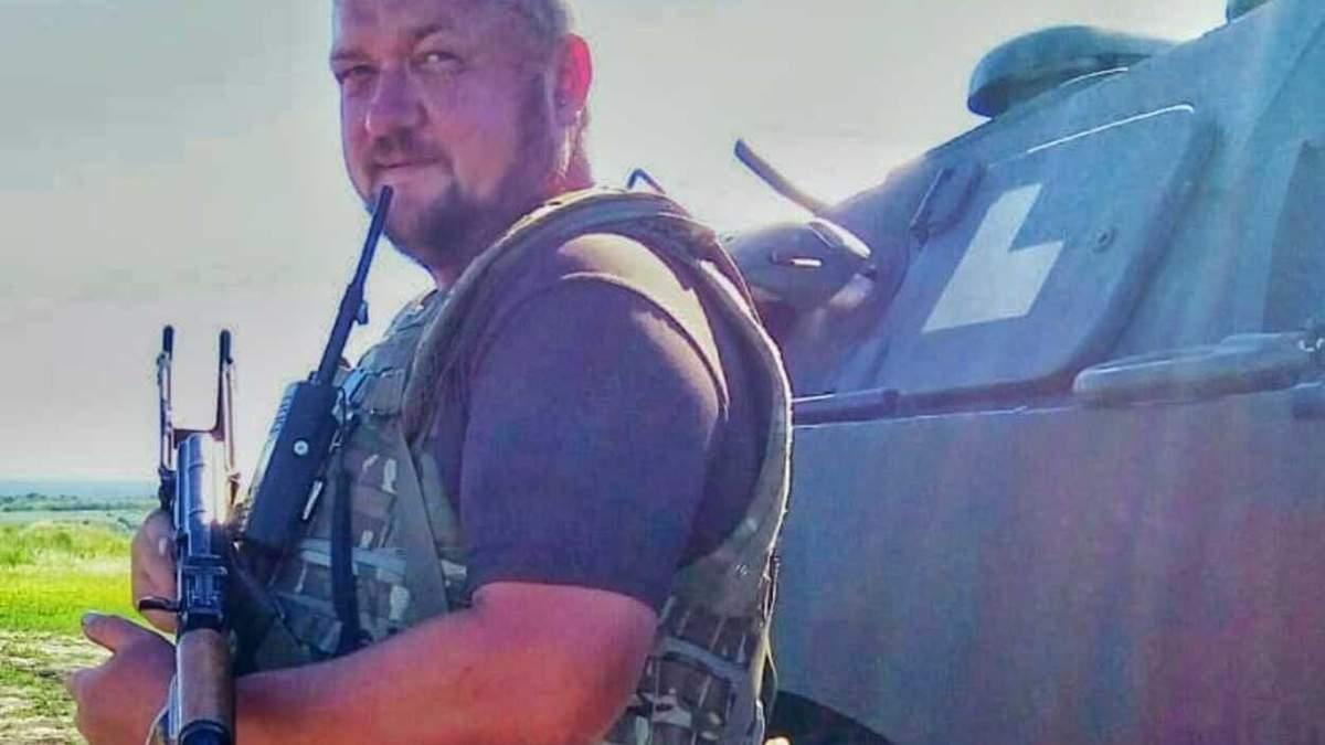 """У Львові від коронавірусу помер воїн """"Айдару"""" Тимур Манджосов"""