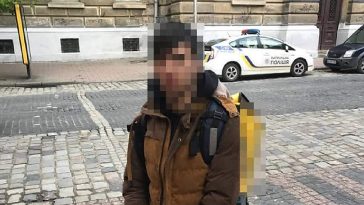 У Львові знайшли кур'єра Glovo, який збив 10-річну дитину
