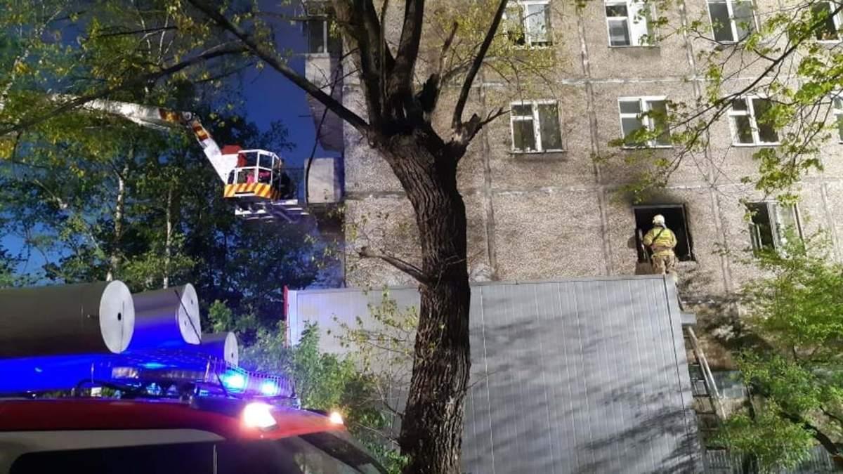 В доме нет ни воды, ни газа, - Садовый рассказал о масштабном пожаре на улице Выговского