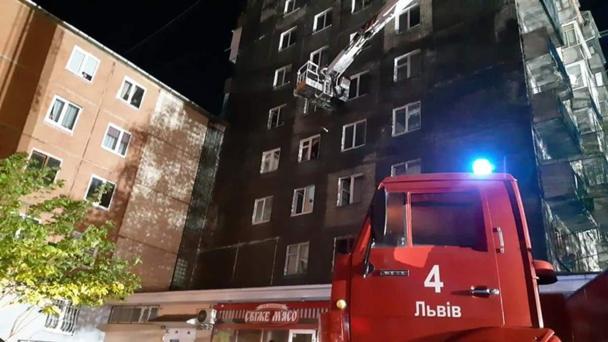 Причина масштабного пожара на Выговского во Львове