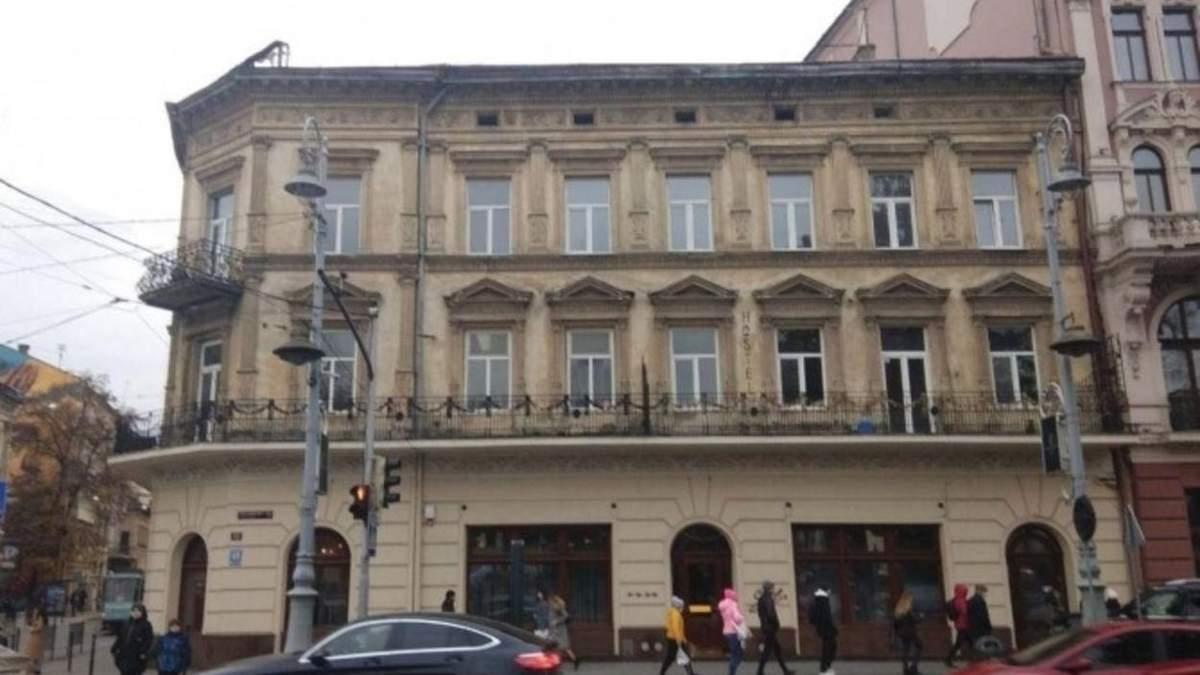 Відомій бізнесменці дозволили переоблаштувати під готель архітектурну пам'ятку у центрі Львова
