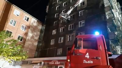 Взрыв батареи электросамоката: назвали причину масштабного пожара во Львовской многоэтажке