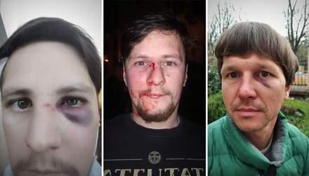 Поліцейські зі спини напали на ветеранів АТО у центрі Львова: деталі