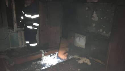 На Львовщине случился ужасный пожар: погиб мужчина – фото пожарища