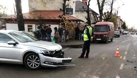 На Львівщині мотоцикліст збив 2-річного хлопчика: дитина у лікарні – фото