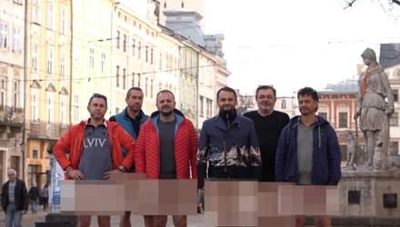 Без штанів: львівські ресторатори записали відеозвернення до Кабміну