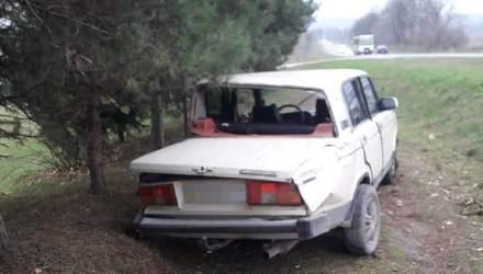 В результате столкновения автомобилей на Львовщине пострадали 4 ребенка: младшей 2 года – фото