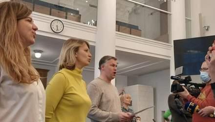 Співочі депутати: у Львівській міськраді пройшла перша репетиція хору – відео