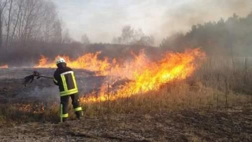 Отримав важкі опіки: на Львівщині чоловік палив траву й спалахнув сам