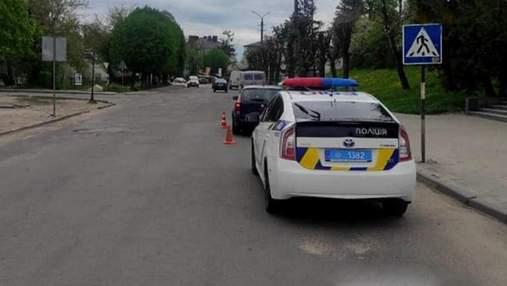 На Львівщині водій збив 7-річну дівчинку на пішохідному переході: фото